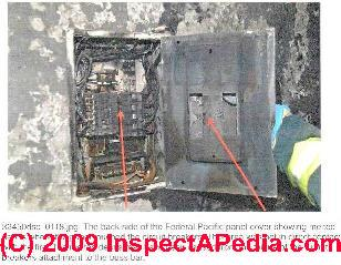 Potentially Faulty Electrical Panels Federal Pacific And